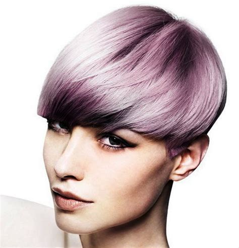 Pictures of Scene Hairstyles Short Purple