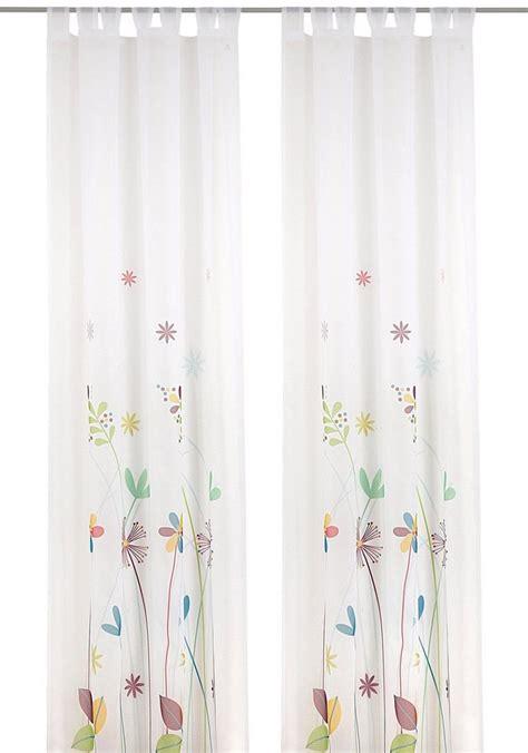 gardinen bunt gardine deko trends 187 fiora 171 1 st 252 ck kaufen otto