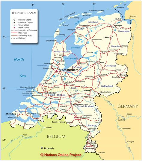netherlands dikes map the netherlands without dikes 962 215 1003 mapporn