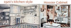 Another popular kitchen trend during this time was the hoosier closet