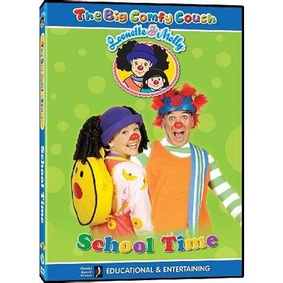 big comfy couch movies the big comfy couch school time dvd