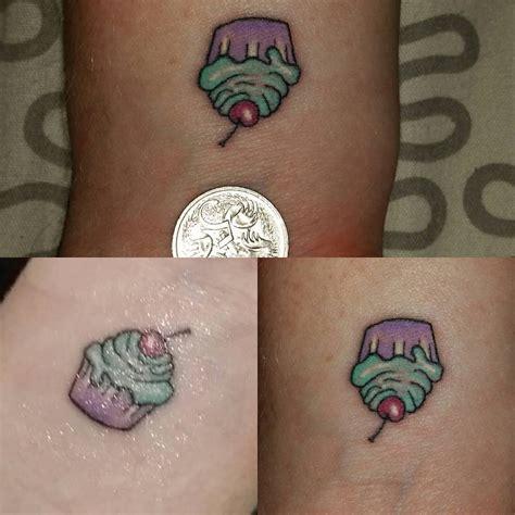 small cupcake tattoos cupcake venice designs