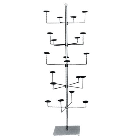 Standing Hat Rack by Freestanding Hat Rack Hat Display Chrome Hat Stand