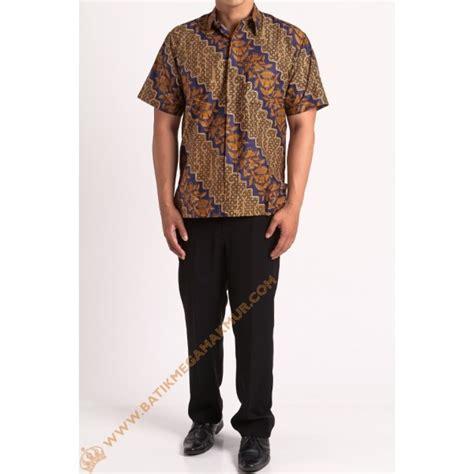 Kemeja Anak Samuel Katun Silk kemeja katun motif lereng batik mega makmur toko