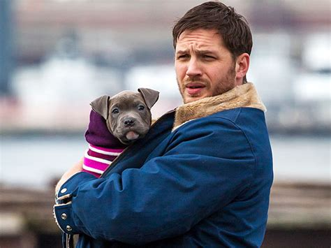 tom hardy puppy exclusive clip of tom hardy and puppy from the drop