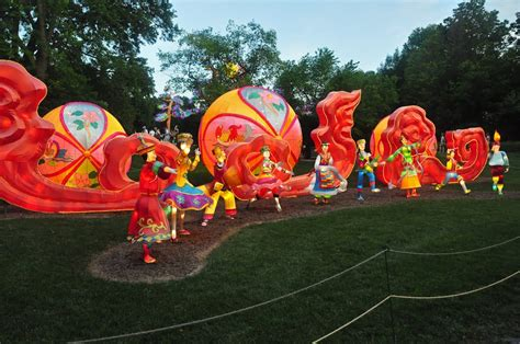 Botanical Gardens Lantern Festival Panoramio Photo Of Missouri Botanical Gardens Lantern Festival 2015