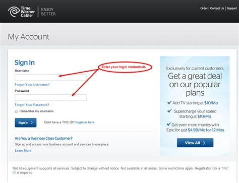 time warner cable help image gallery twc account