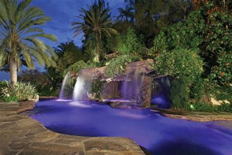 lagoon style pool features luxury pools + outdoor living