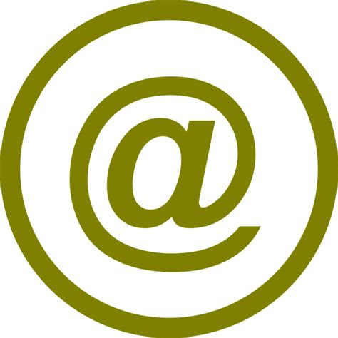 email at symbol email at 183 free vector graphic on pixabay