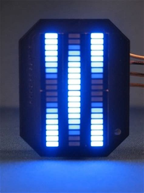 Led Vu Display rider mini vbox display blue karr led vu meter