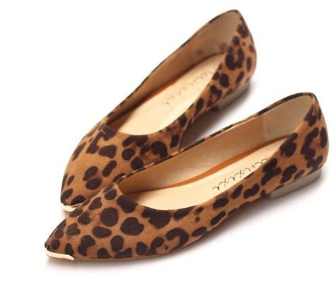 flat shoes brown leopard shoes on luulla