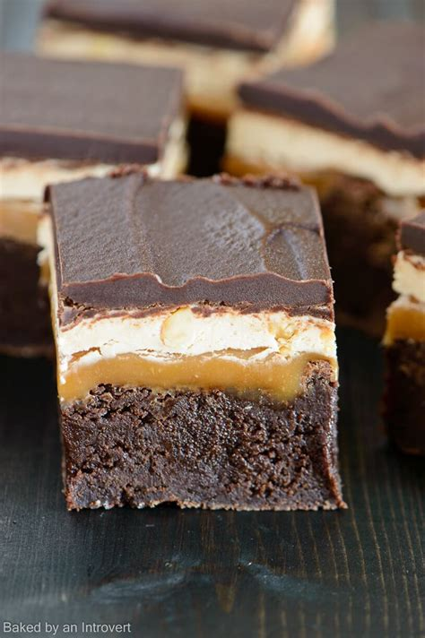 Brownie Big Size best 25 snicker brownies ideas on snickers