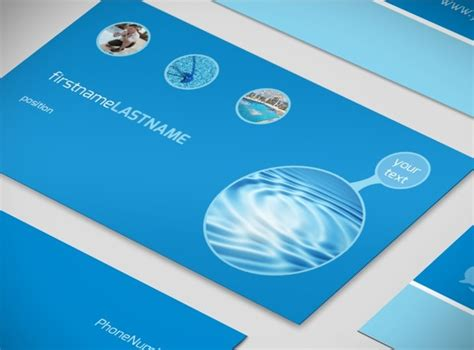 pool business card templates residential pool cleaning business card template