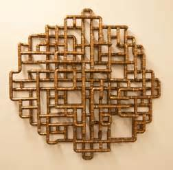 sculptural copper tubing furniture and by tj volonis