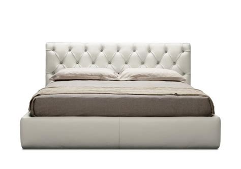 letto king size outlet letto king size in pelle berto shop
