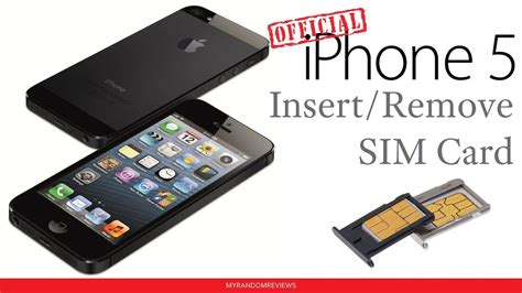 iphone 5 how to insert remove a sim card