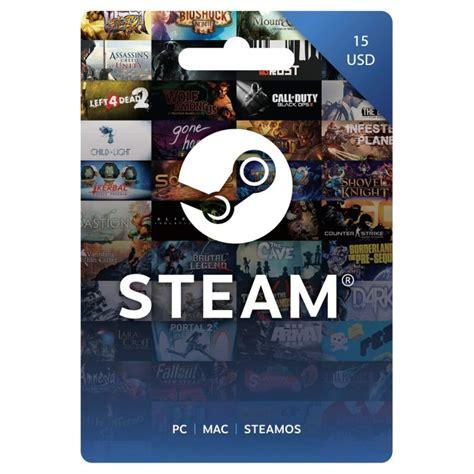 15 Steam Gift Card - 15 steam wallet card