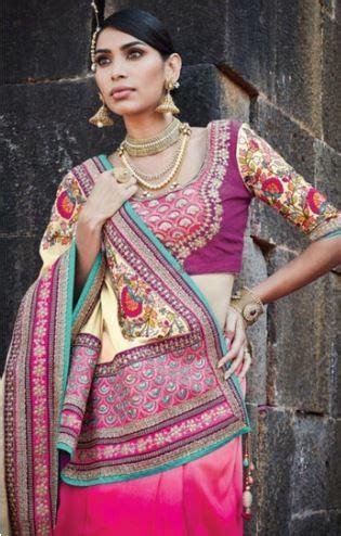 lehenga saree draping easy breezy lehenga style saree draping saree guide