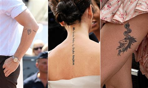 celebrity tattoo quiz drew barrymore pays tribute to her daughters with sweet tattoo