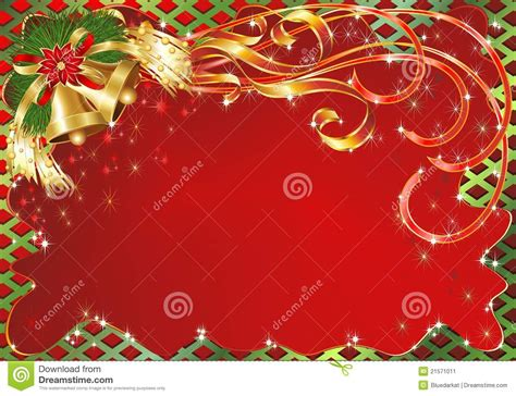 greeting card background templates greeting card background with bells stock vector