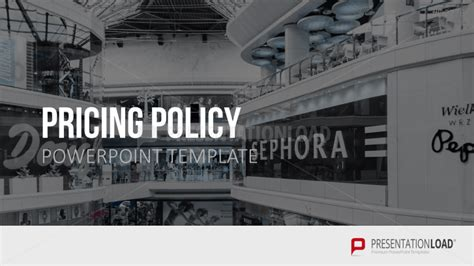 Pricing Policy Presentationload Pricing Policy Template