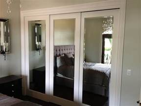 Mirror Sliding Closet Doors For Bedrooms Installing Sliding Closet Doors For Design Ideas And Mirror Bedrooms Interalle