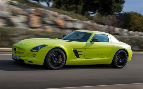 mercedes sls electric drive 2014 mercedes sls amg electric drive side motion photo 15