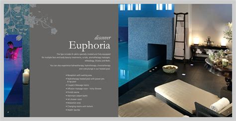 hotel bureau d馭inition 16 spa brochure design and print exles uprinting