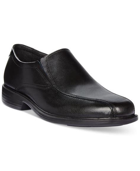 bostonian loafers bostonian kopper step loafers in black for lyst