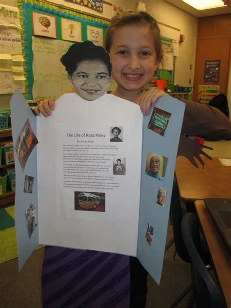 biography project ideas for 2nd grade black history month and presidents day biography reports