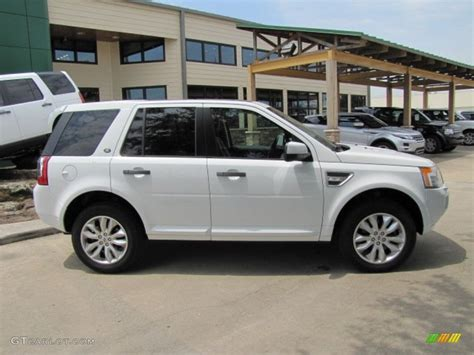 white land rover lr2 fuji white 2011 land rover lr2 hse exterior photo