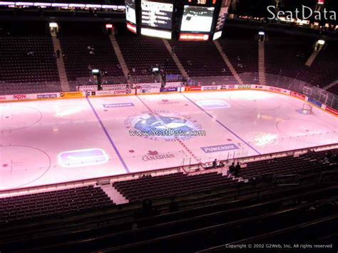Club Section Rogers Arena by Rogers Arena Section 309 Vancouver Canucks