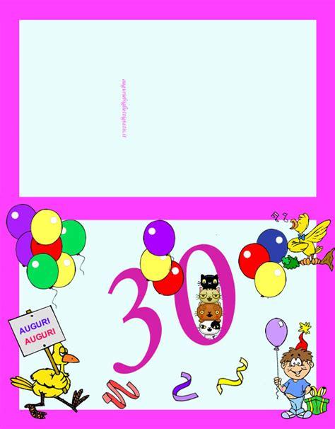 compleanno 30 anni 30 anni auguri per compleanno di