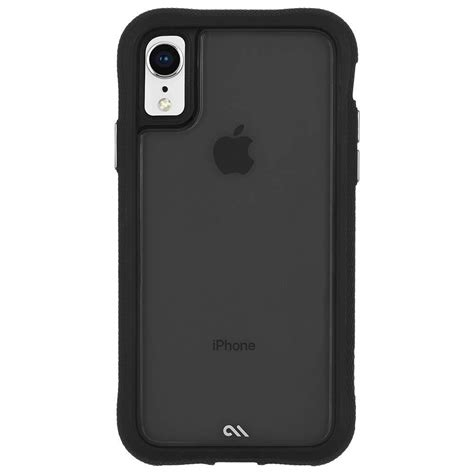 casemate translucent protection for iphone xr black