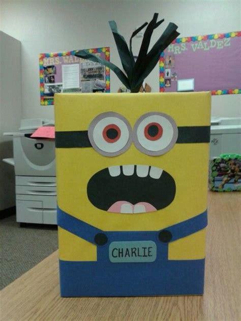how to make a minion valentines day box box i made minion s day