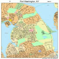 Port Washington Map by Port Washington New York Street Map 3659520