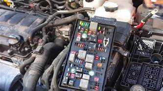 chevy cruze fuse box fails causes power windows lights and turn signals to not work properly