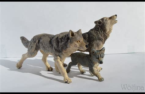 Papo Grey Wolf papo wolves by schwarzwolfin on deviantart
