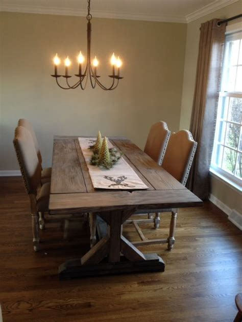 buy  hand crafted fancy  farmhouse table  extensions