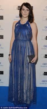 tamara ecclestone shows a more elegant side as she attends