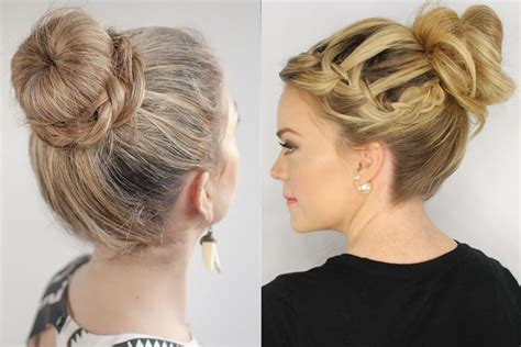 Types Of Hair Knots by Trends Top Knot Hairstyles Fashion For All Hair Types