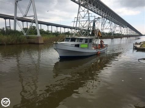 used bay boats for sale in texas 1981 used glass bay 42 shrimp boat commercial boat for