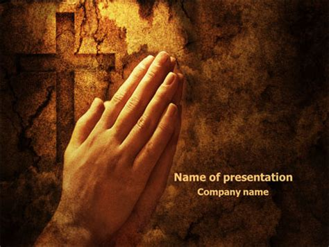 Prayer Hands Powerpoint Template Backgrounds 08023 Prayer Ppt Templates Free