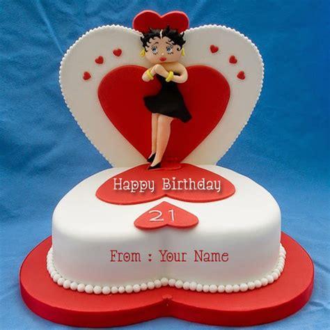 happy st birthday cake  cute barbie