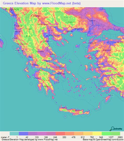 Altitude Finder By Address Greece Elevation And Elevation Maps Of Cities Topographic Map Contour