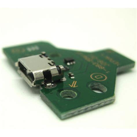 Board Port Charher Stik Ps4 jds 011 12 pin usb charging port socket board for ps4