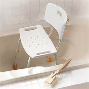 profilio adjustable bath seat with back