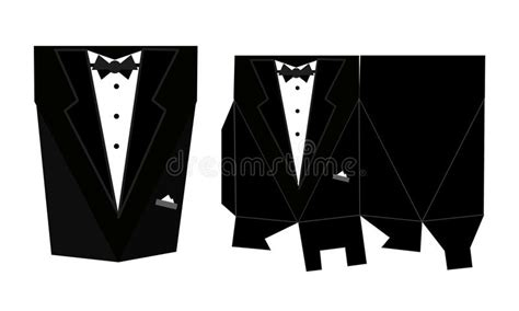 paper tuxedo wedding card template tuxedo printable square packaging with lid groom