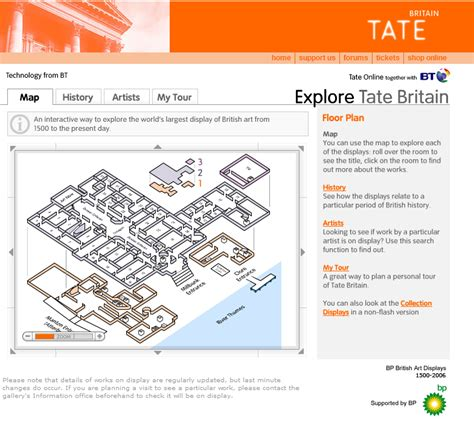 tate modern floor plan sitemap sles and resources