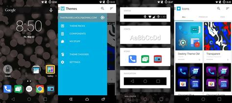 themes android central inside cyanogen os themes android central